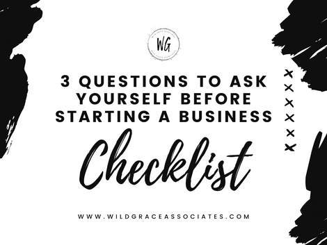 3 Questions You Need to Ask Yourself FREE Checklist