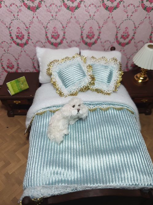One of a kind miniature  Toy Poodle dog