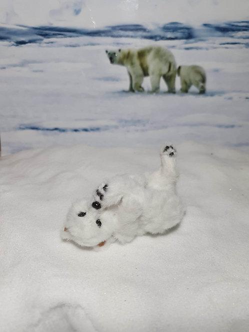 One of a kind miniature polar bear cub