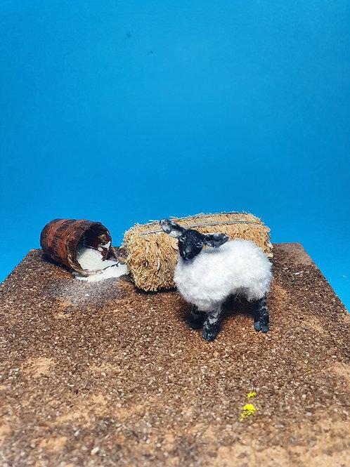One of a kind miniature lamb