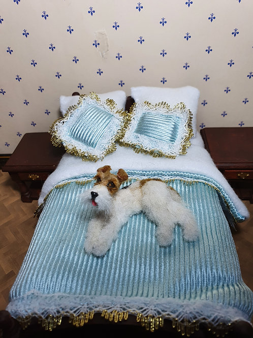 One of a kind miniature Fox terrier dog