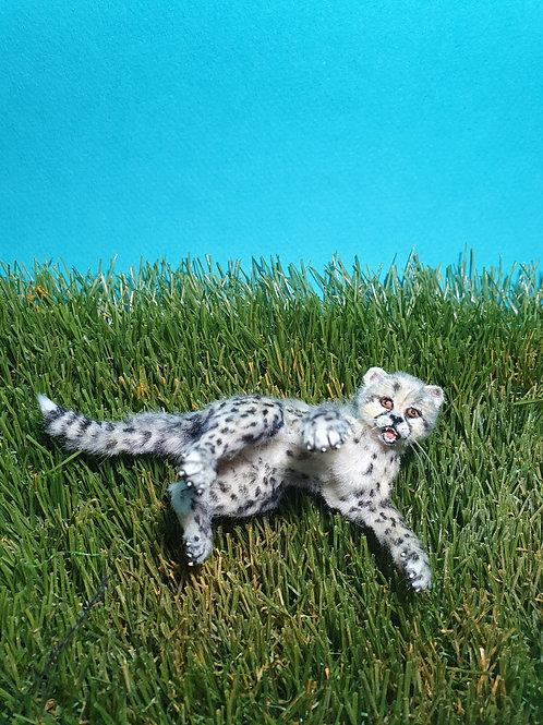 One of a kind miniature Gephard
