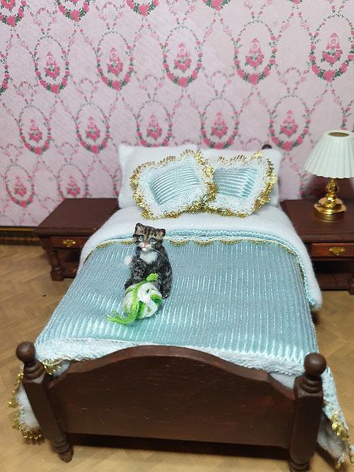 One of a kind miniature tabby cat