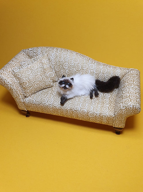 One of a kind miniature Himalayan cat