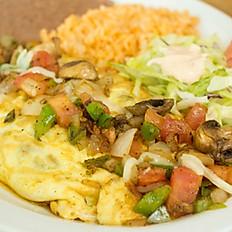 Spanish Omelet - Vegetarian