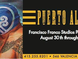 Francisco Franco Studios                      Pop-Up Art Show