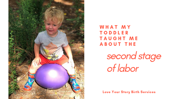 Birth Lessons From a Toddler