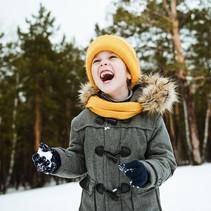 Say «Freeze» ❄️☃️ #winter #joy #kids #ou