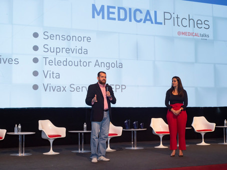 Como foi o Medical Pitches
