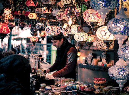 Souks, os famosos mercados de Marrakech