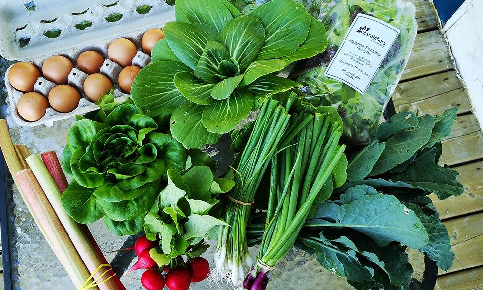 Vegetable box subscription