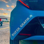 Toyota Aygo Rufer Grafik !