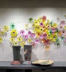 Jessica Organ, Bottle flowers.jpg