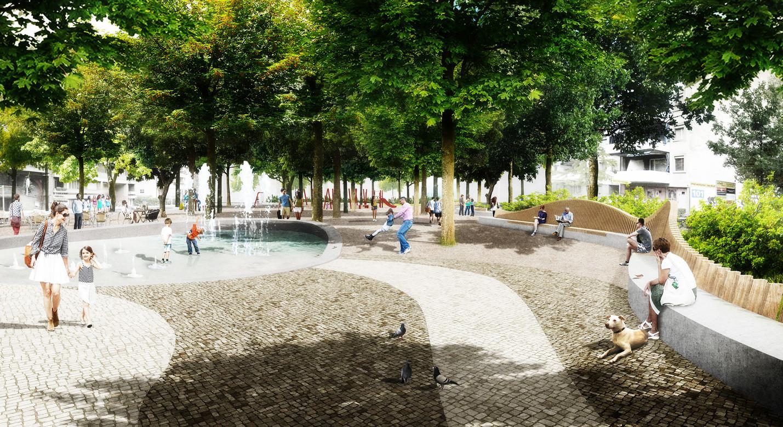 Perspektive_Winkelriedplatz_Wasserbecken