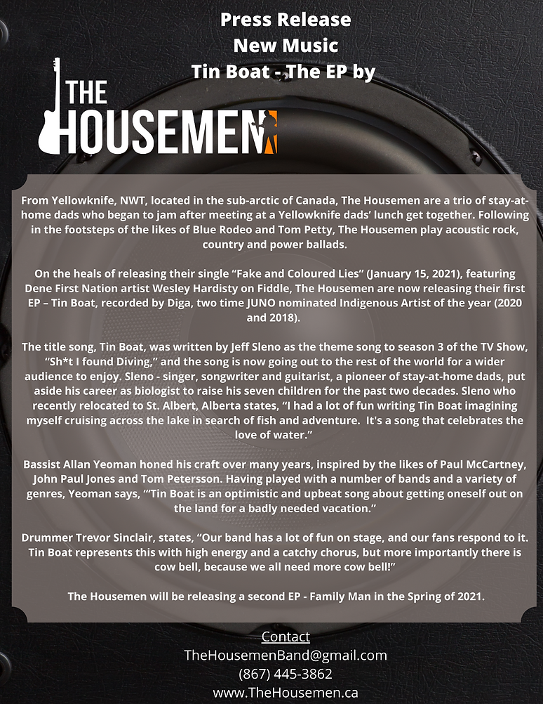 Tin Boat ep Press release.png