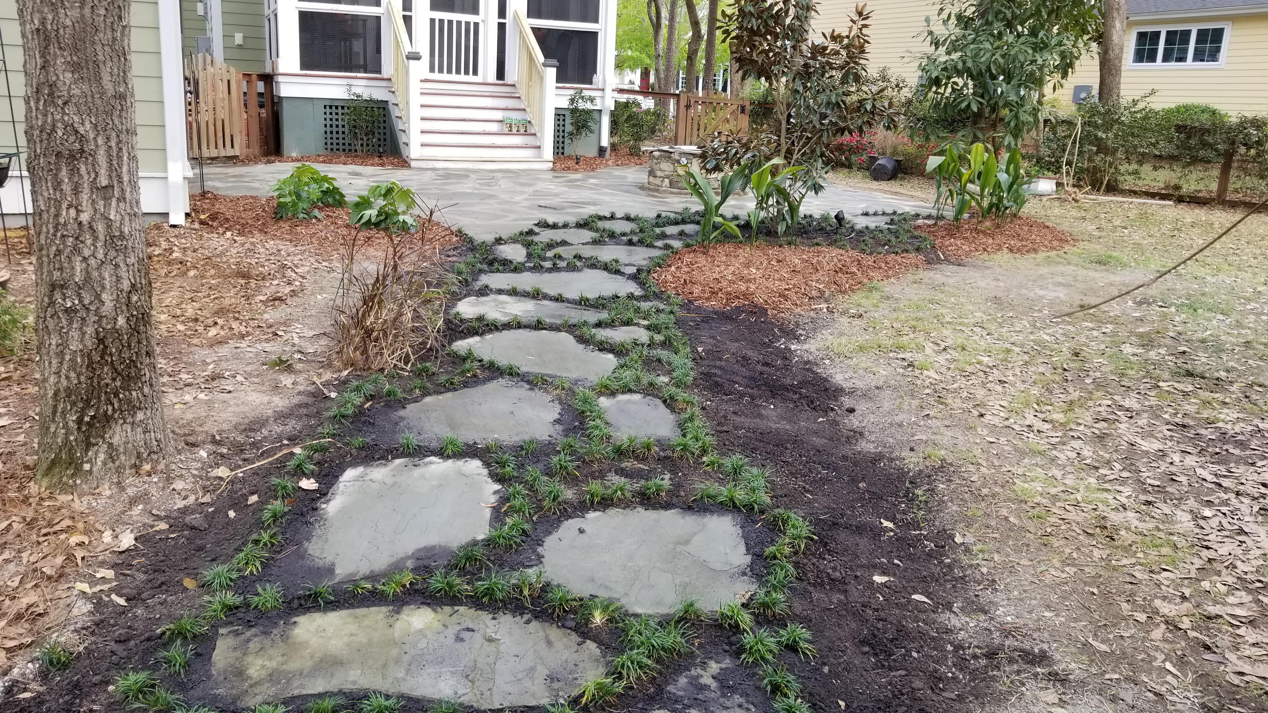 living walkway