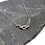 Thumbnail: Graduated Stainless Steel Flat Chain Necklace