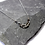 Thumbnail: Hammered Stainless Steel Graduated Flat Chain Necklace