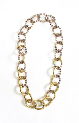 Fragmented Chain Necklace