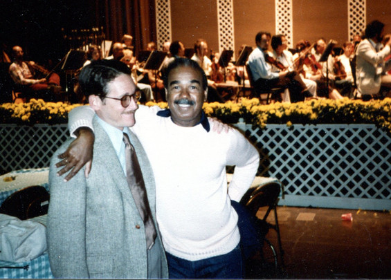 With Bobby Short, S.F. Symphony