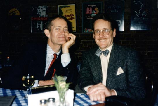 With Steve Ross Joe Allen
