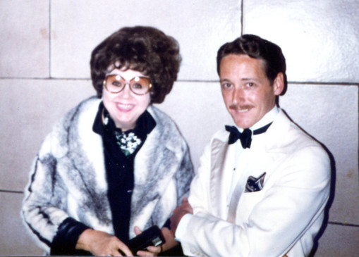 With Jane Withers, 1982