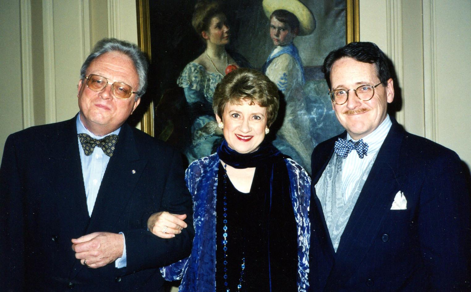 With Bill Bolcom, Joan Morris, 1998