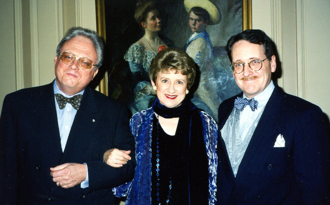 With Bill Bolcom, Joan Morris, 1998