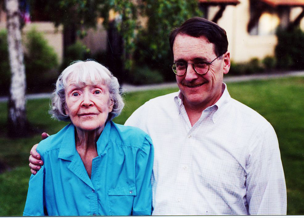 With June MacCloy