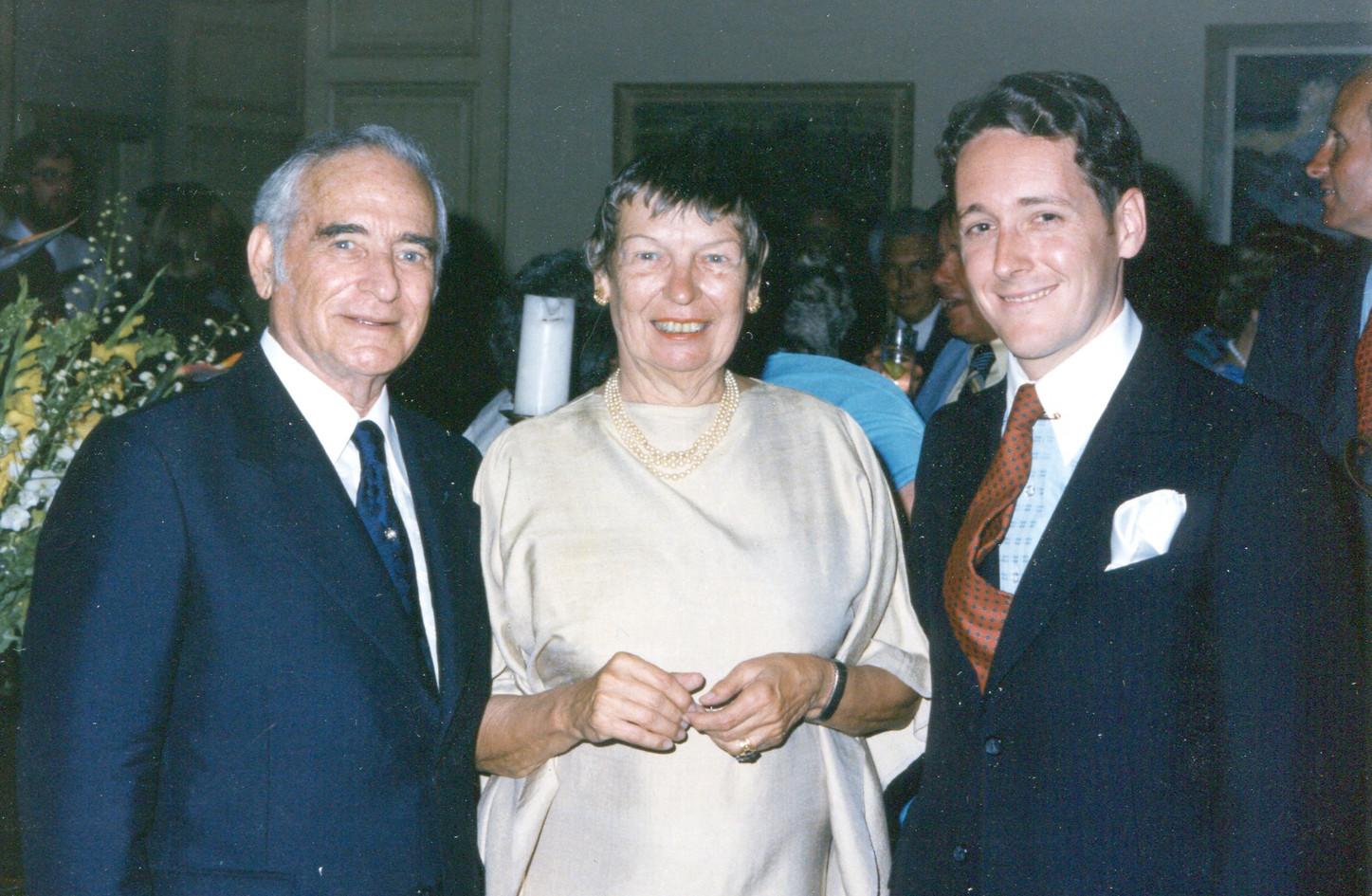 With Edward Heyman, Dana Suesse, 1979