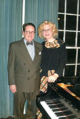 With Sara Davis Buechner