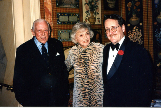 With Alistair & Jane Cooke, The Carlyle
