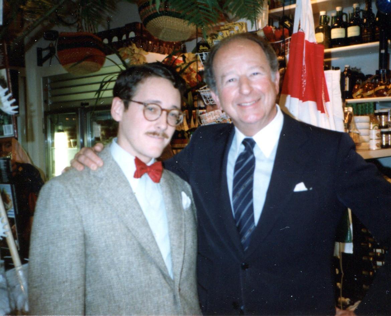 With Herb Caen