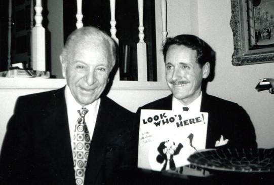 With Burton Lane, 1992