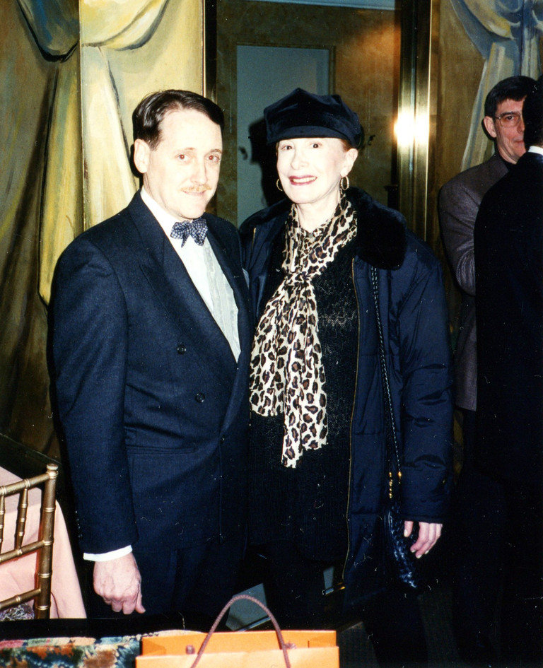 With Barbara Carroll, Cafe Carlyle