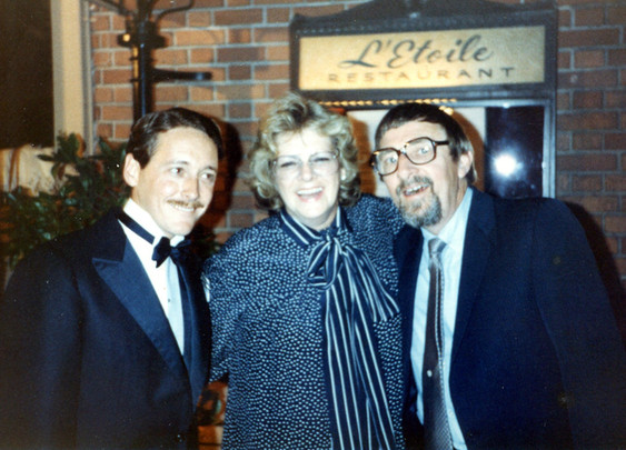 With Rosemary Clooney & Gene Puerling