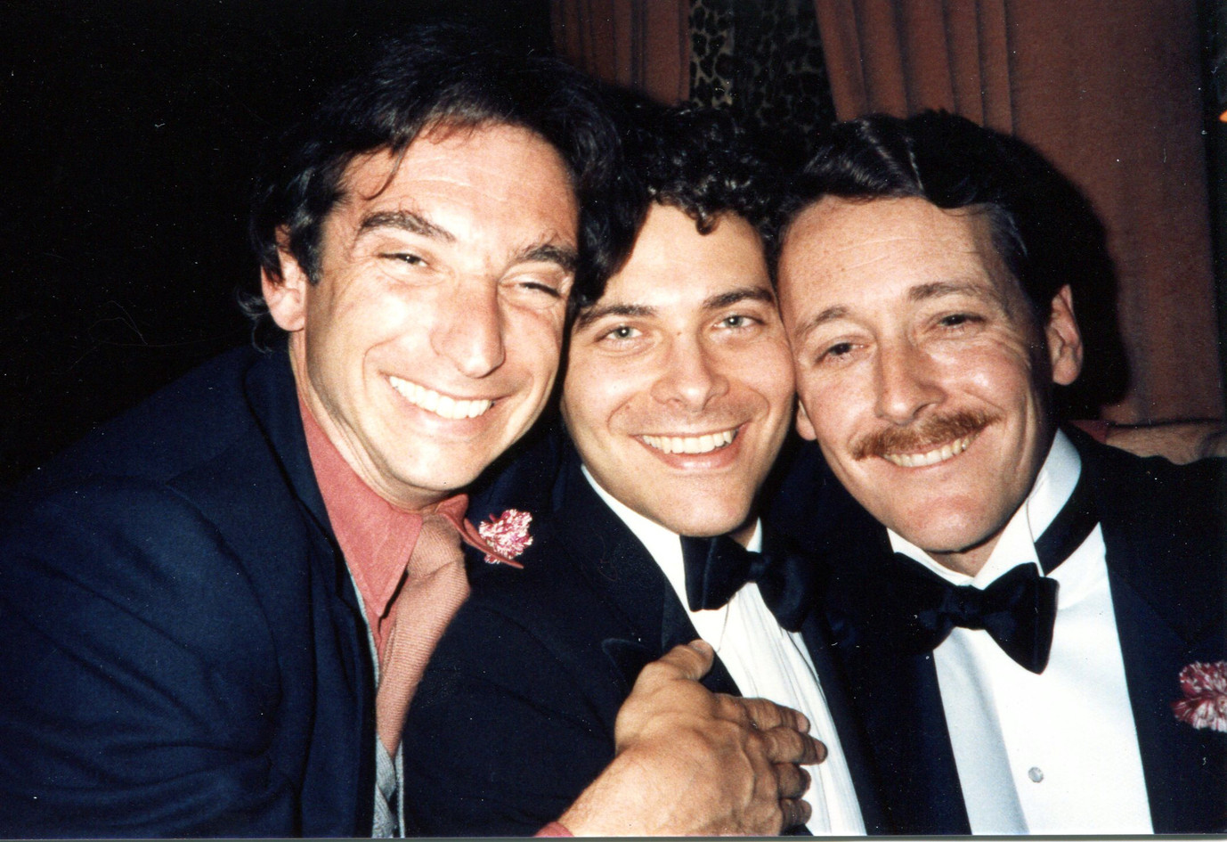 With Michael Tilson Thomas, Michael Feinstein
