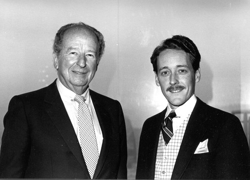 With Herb Caen, Top Of The Mark