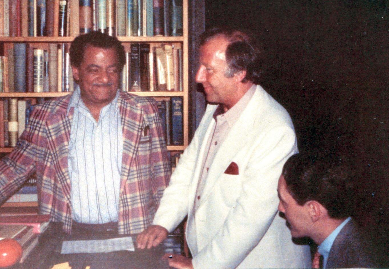 With Teddy Wilson, George Shearing, Berkeley