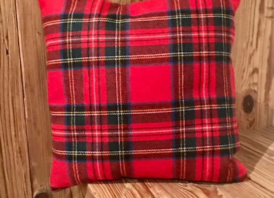 Cuscino tartan quadrato
