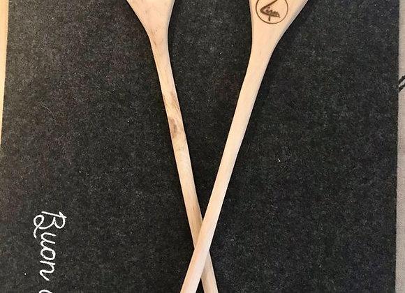 Cucchiai in legno di pino cembro
