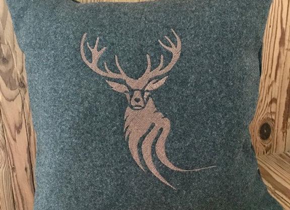 Cuscino in lana di cashmere