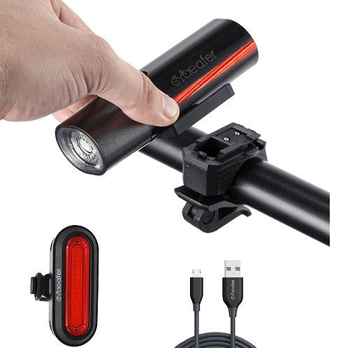 aubVOLT bike light SET