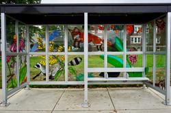 eileen de rosas bus shelter