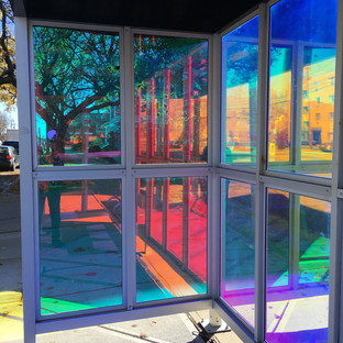 Claudia Ravaschiere & Mike Moss's Bus Shelter