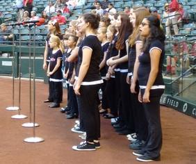 National Anthem for Diamondbacks