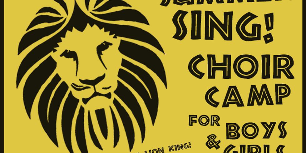 Summer Sing! Free Choir Camp