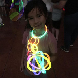 Glowstick party fun