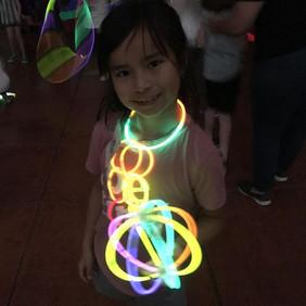 Glowstick party fun