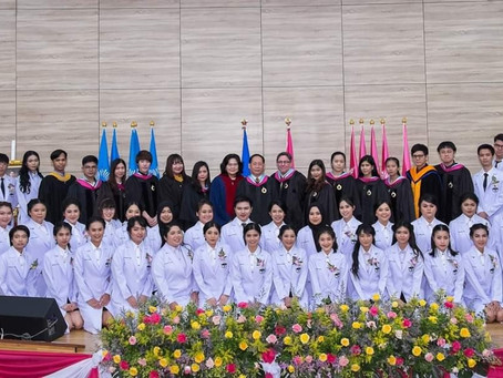 โครงการพิธีมอบเสื้อกาวน์รับศิษย์ OD รังสิต รุ่น 9 สู่ชั้นคลินิก คณะทัศนมาตรศาสตร์ มหาวิทยาลัยรังสิต